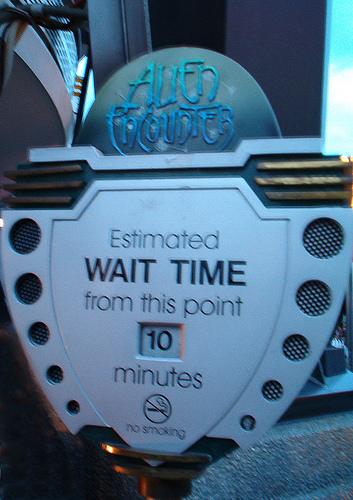 ディズニーランドを効率よく回るために!アトラクション待ち時間ランキング!