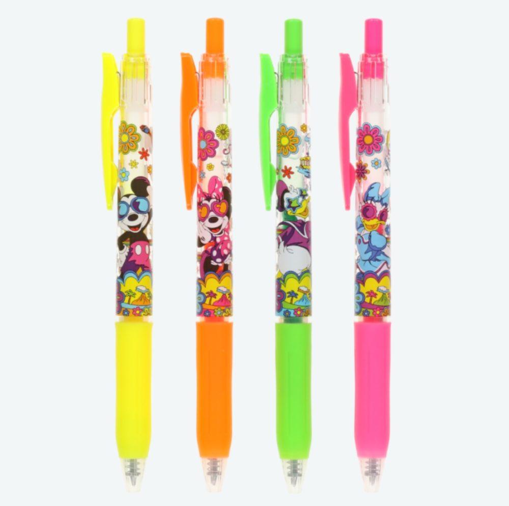 ボールペン<サラサ>4本