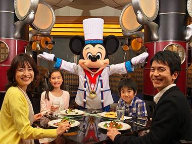 ディズニーランド・ディズニーシーでミッキーに会えるレストランまとめ