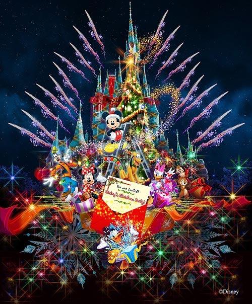 【ワンス終了!?】ディズニー・ギフト・オブ・クリスマス・期間限定キャッスルショー【ディズニーランド2017】