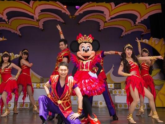 【ディズニーランド・ミニーオーミニー】ショースケジュール・おすすめの席・ダンサーとシンガーの内容紹介♪【ネタバレ・かわいい】