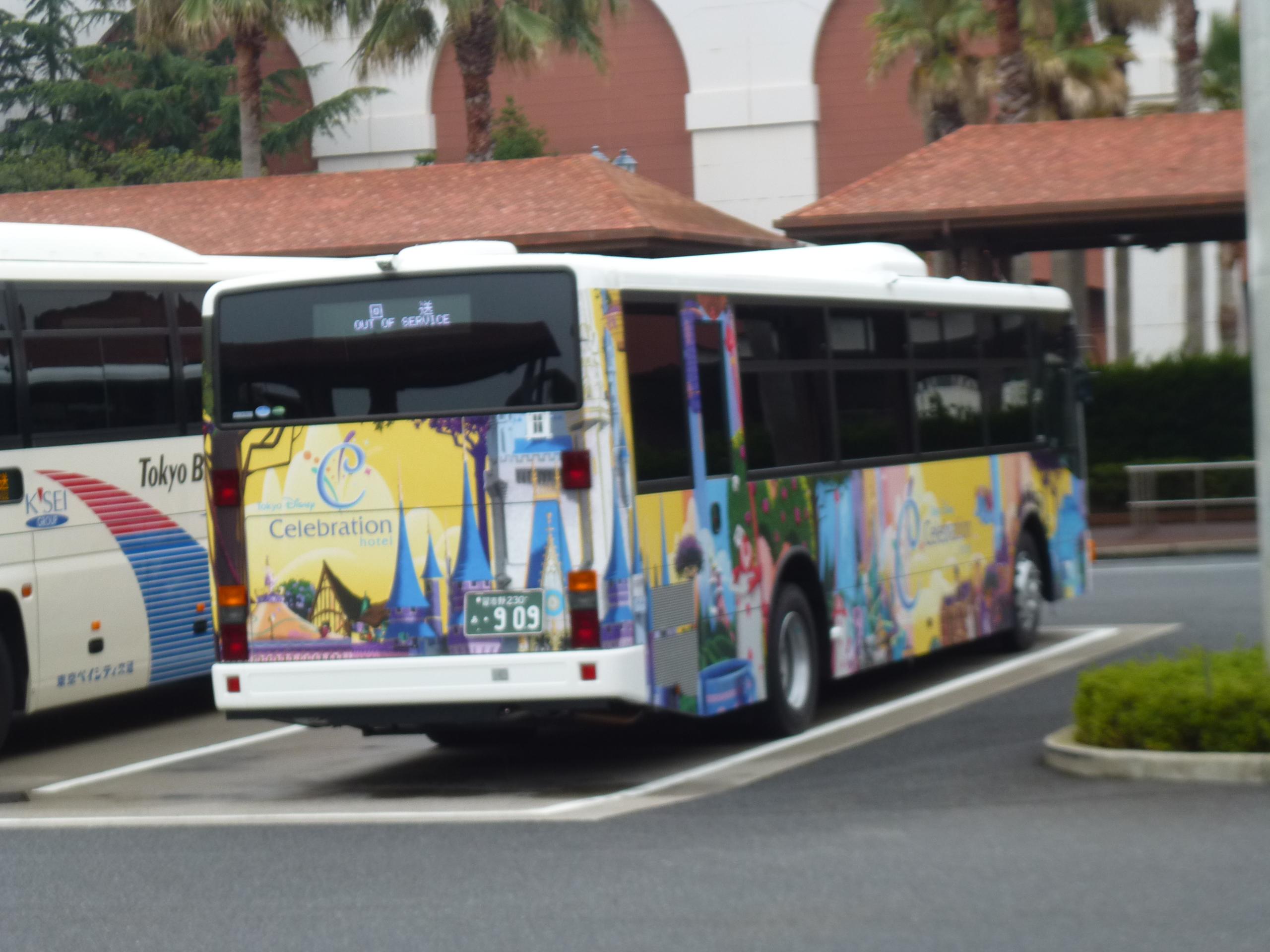 【セレブレーションホテル】シャトルバス乗り場・朝・最終の混雑【時刻】
