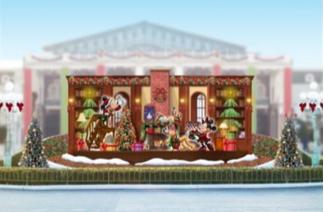 【ディズニーランド2017】クリスマスパレード&ショー【いつから・内容・プロジェクションマッピング】