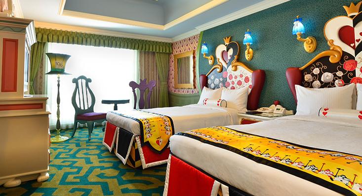 【ディズニーランドホテル】キャラクタールームの景色・パークビュー・朝食はつくの?【おすすめ】