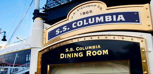 【ディズニーシー・SSコロンビア号】レストラン予約なし・誕生日クリスマス・甲板デッキ