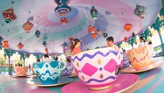 アリスのティーパーティーの人気 待ち時間と誕生日サプライズ 毎日ディズニーランド