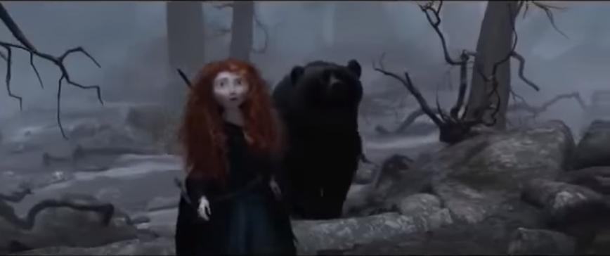 メリダとおそろしの森