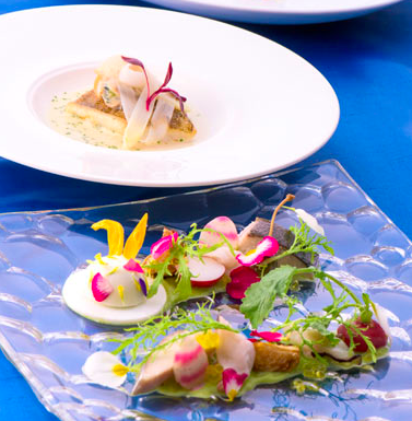 ミラコスタにあるレストラン「オチェーアノ」はデート・誕生日お祝いにピッタリ