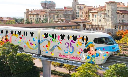 【舞浜駅からディズニーシー】モノレール・タクシーの料金&時間【行き方】