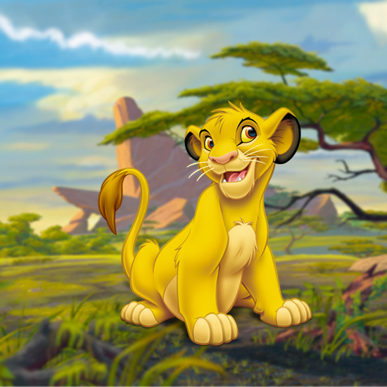 「ライオン・キング」より  シンバ